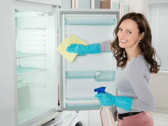 tips på att rengöra kyl