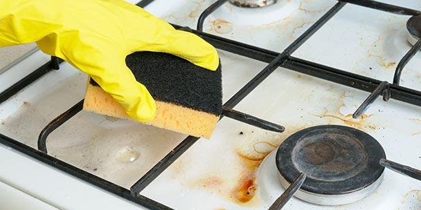 lär dig rengöra spis som ett proffs